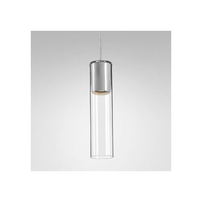 Lampa wisząca AQForm Modern Glass Tube GU10 Suspended Biały Struktura