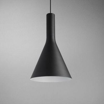 Lampa wisząca AQForm Morph Flared LED Czarny Struktura