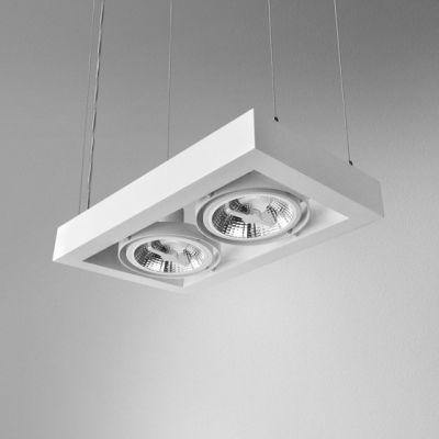Lampa wisząca AQForm Cadra 111 x 2 Suspended Biały Mat