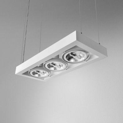 Lampa wisząca AQForm Cadra 111 x 3 Suspended Biały Mat