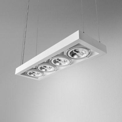 Lampa wisząca AQForm Cadra 111 X 4 Biały Struktura