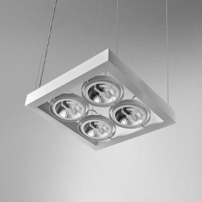 Lampa wisząca AQForm Cadra 111 X 4 SQ Suspended Biały Mat