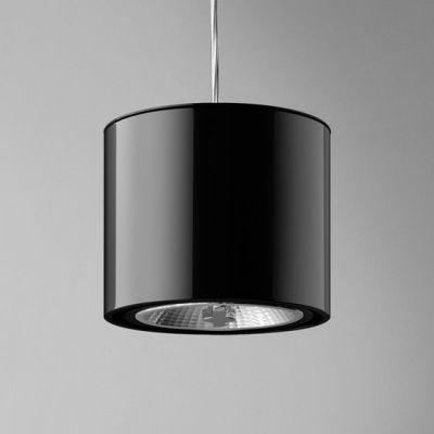Lampa wisząca AQForm Tuba 111 230V Suspended Czarny Połysk