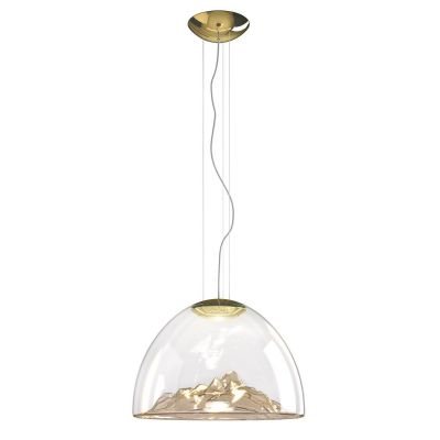 Lampa wisząca Axo Light Mountain View Amber Gold