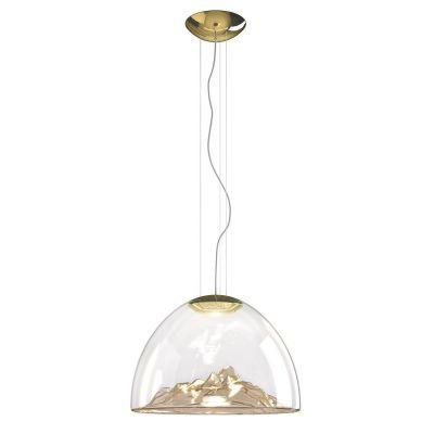 Lampa wisząca Axo Light Mountain View Amber Gold
