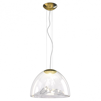 Lampa wisząca Axo Light Mountain View Crystal Gold