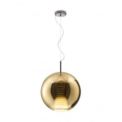 Lampa wisząca Fabbian D57A5512 Beluga Royal Ø40 Oro-LED