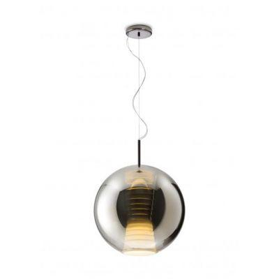 Lampa wisząca Fabbian D57A5534 Beluga Royal Ø40 Titanium-LED