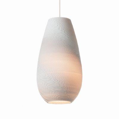 Lampa wisząca Graypants GP-1211-a Scraplights Drop18 white