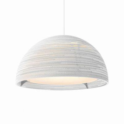 Lampa wisząca Graypants GP-1251-a Scraplights Dome36 white