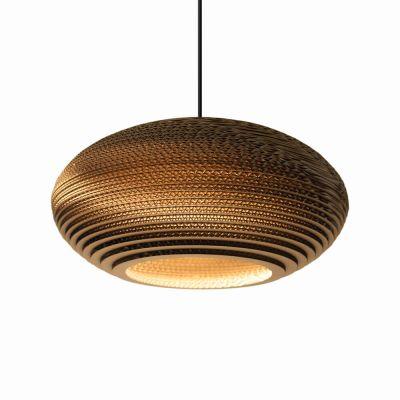 Lampa wisząca Graypants GP-141-a Scraplights Disc16 natural