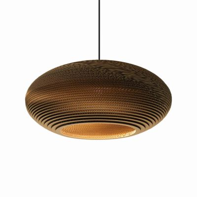 Lampa wisząca Graypants GP-142-a Scraplights Disc24 natural