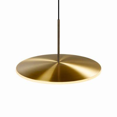 Lampa wisząca Graypants GP-283-a LED Chrona Dish17h brass