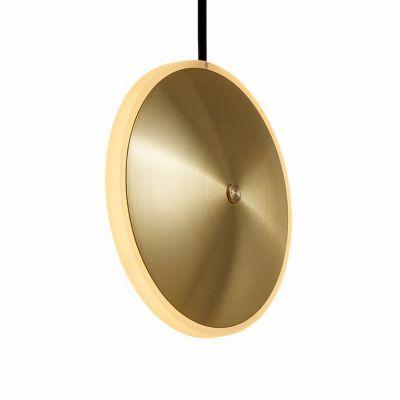 Lampa wisząca Graypants GP-284-a LED Chrona Dish6v brass