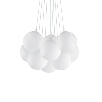 Lampa wisząca Ideal Lux 131924 Mapa Bianco SP11