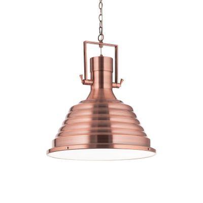Lampa wisząca Ideal Lux 134871 Fisherman SP1 D48 Rame