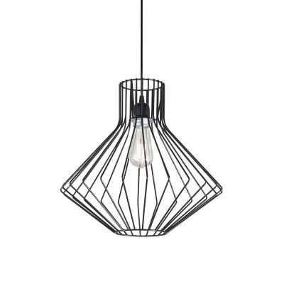 Lampa wisząca Ideal Lux 167497 Ampolla-4 SP1 Nero
