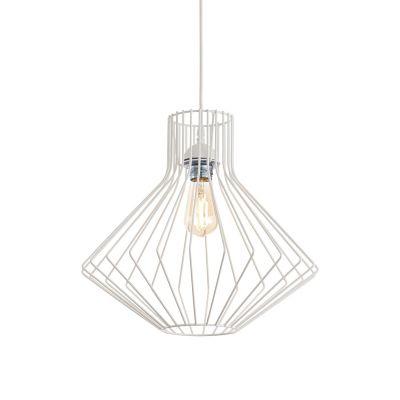 Lampa wisząca Ideal Lux 200903 Ampolla-4 SP1 Bianco