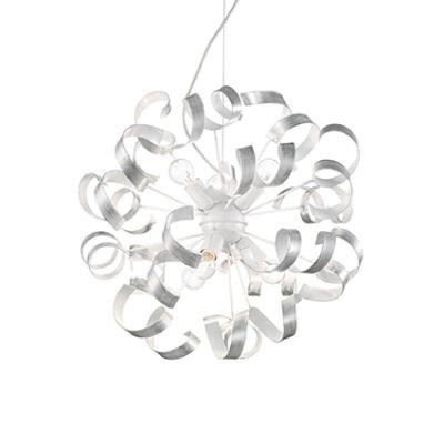 Lampa wisząca IdealLux 101613 Vortex SP6 Argento