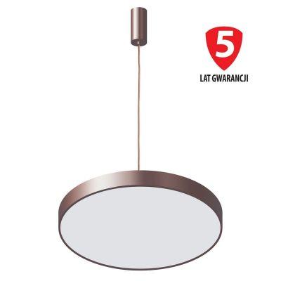 Lampa wisząca Italux 5361-860RP-CO-3 Orbital Brązowa