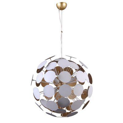 Lampa wisząca Italux AD20180/6B WH+GD Mailone
