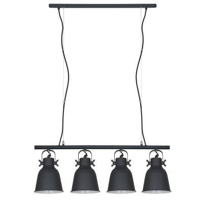 Lampa wisząca Italux MD-HN82608-4-BKWH Lavare