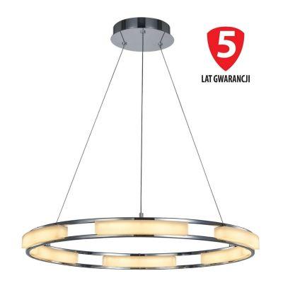 Lampa wisząca Italux MD17006017-6A Theodore Srebrna
