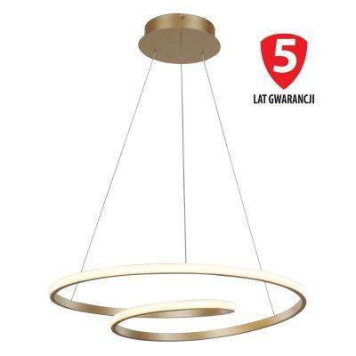 Lampa wisząca Italux MD17011011-1A GOLD Capita Złota