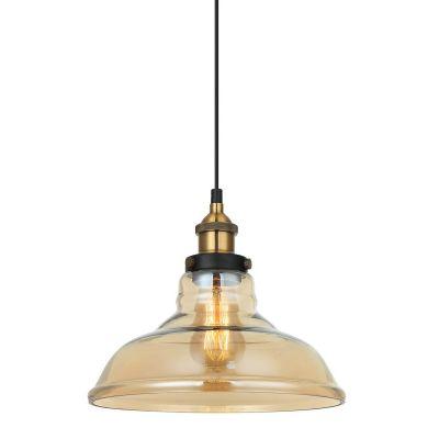 Lampa wisząca Italux MDM-2381-1-GDAMB Hubert