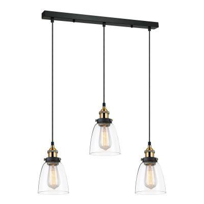Lampa wisząca Italux MDM-2563-3-GDCL Francis