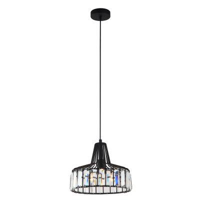 Lampa wisząca Italux MDM-2722-1S-A-BK Manzo