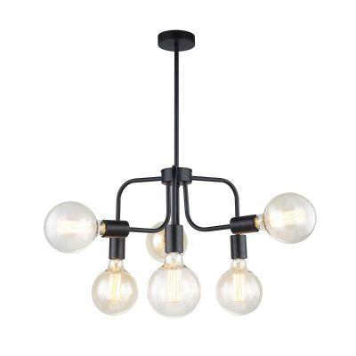 Lampa wisząca Italux MDM-36786 BK Kristy