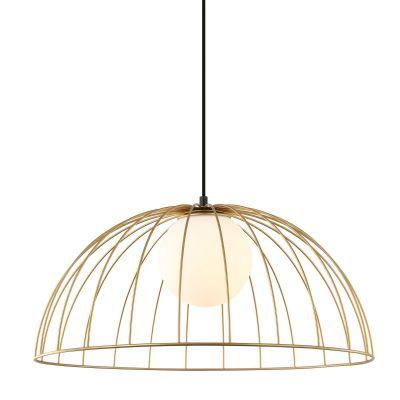 Lampa wisząca Italux MDM-3761-1L-GD Louis