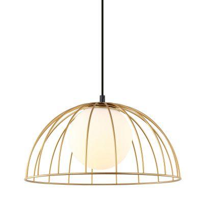 Lampa wisząca Italux MDM-3761-1M-GD Louis