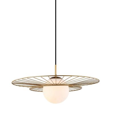 Lampa wisząca Italux MDM-4001-1-GD Alison
