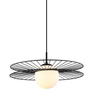 Lampa wisząca Italux MDM-4002-1-BK Sandy