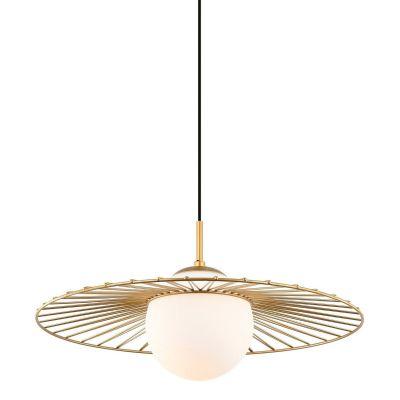 Lampa wisząca Italux MDM-4003-1-GD Sally