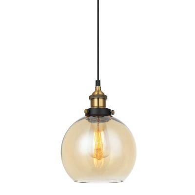 Lampa wisząca Italux MDM-4330-1-GDAMB Cardena