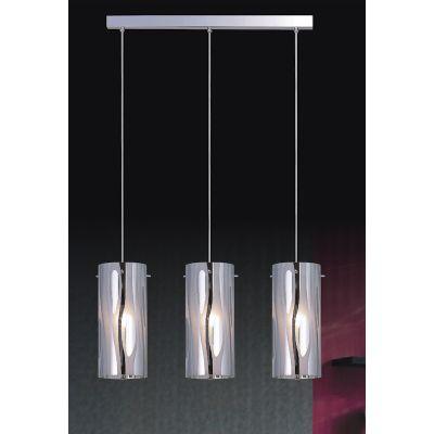 Lampa wisząca Italux MDM1575-3CR Triplet