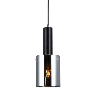 Lampa wisząca Italux PND-5581-1-BKSG Sardo