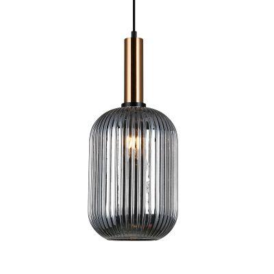 Lampa wisząca Italux PND-5588-1L-BROSG Antiola
