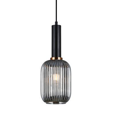 Lampa wisząca Italux PND-5588-1M-BKSG Antiola