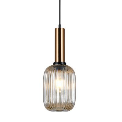 Lampa wisząca Italux PND-5588-1M-BROAMB Antiola