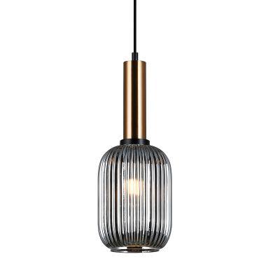 Lampa wisząca Italux PND-5588-1M-BROSG Antiola
