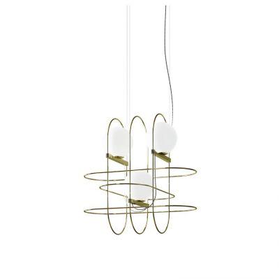 Lampa wisząca LED Fontana Arte F438380550OBLE Setareh