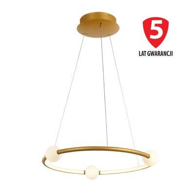 Lampa wisząca LED Italux PND-20112035-1A-GD Lozanna