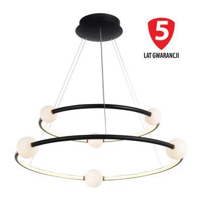 Lampa wisząca LED Italux PND-20112035-2A-BL Lozanna