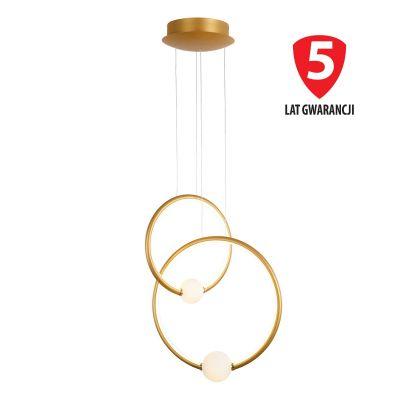 Lampa wisząca LED Italux PND-20112035-2B-GD Lozanna