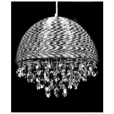 Lampa wisząca Lumina Deco LDP-0276-5-BK Leonella