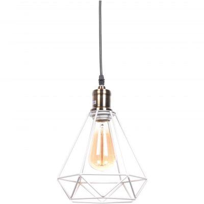 Lampa wisząca Lumina Deco LDP-11609-WT Cobi